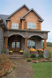 craftsman home all ready for fall house plans from the plan