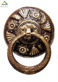 Unique Door Knockers by Unique Vintage Design Carving Kada Door Knocker Full Brass