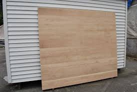 large wood stave panels made of torsion box composite plywood
