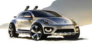 volkswagen u0027s beetle dune concept previews future bug crossover