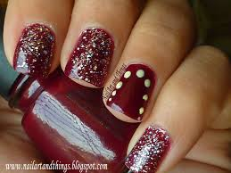 nailart and things in the mood for some polish chg velvet bow