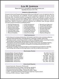 property management resume property manager resume sle pinteres