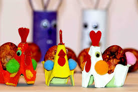 easter crafts for kids easter rooster youtube