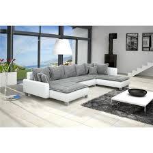 canape gris et blanc canapé d angle conv u nano gris blanc angle droit achat vente