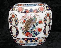 Japanese Kutani Vases Kutani Vase Etsy