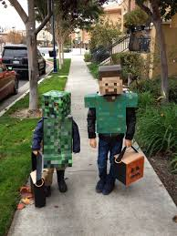 minecraft costumes handmade minecraft costumes for this year for alex