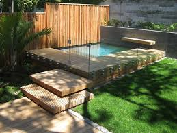 backyard courtyard designs unique 15 small courtyard decking best 25 plunge pool ideas on small pools courtyard