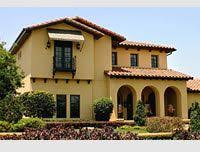 image result for outside paint color for mediterranean home back