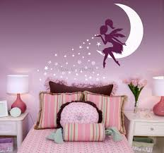 popular fairy wall decals buy cheap fairy wall decals lots from fairy blowing stars wall decal fairy blowing pixie dust vinyl wall stickers for kids room girl