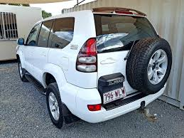 4x4 turbo diesel 8 seat toyota landcruiser prado gxl 2003 for sale