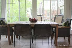 Hookedonhouses by Wide Shot Of Sunroom Table And Chairs Hooked On Houses