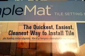 tile backsplash adhesive mat diy why spend more putting up a tile backsplash