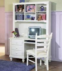 Corner Computer Desk With Hutch White Furniture Small Corner White Desk With Small Hutch And Gray