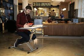 all in one desk and chair the edge all in one desk solution for modern life and work living