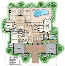 super luxurious mediterranean house plan 66359we architectural