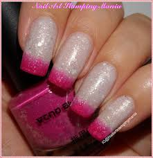 nail art stamping mania glitter thermal nail polish fuchsia light