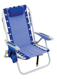 Backpack Beach Chair Rio Brands Gear Ultimate Backpack Chair With Cooler Blue Amazon