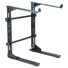 Adjustable Height Laptop Stand For Desk by Electrovision Adjustable Height Laptop Stand At Gear4music Com