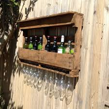 wine glass cabinet wall mount wall mounted wine rack in pallet wine bottle and glass storage for