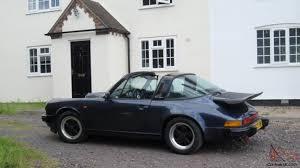 1986 porsche targa classic porsche 911 carrerra targa sport 1985 prussian blue