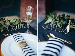 unique wedding name cards ideas flat wedding place cards place