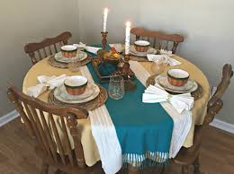 warm and cozy thanksgiving tablescape come home for comfort