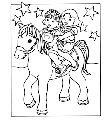 fisher price horseback riding fisher price coloring pages