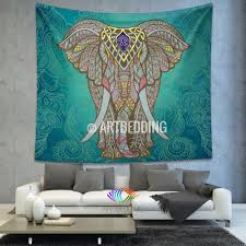 Wall Tapestry Hippie Bedroom M Size Elephant Wall Tapestry Hippie Tapestry Wall Hanging