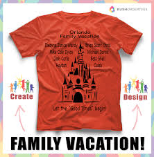 family vacation custom t shirt design idea s create awesome