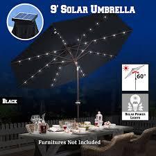 Solar Light Patio Umbrella by Amazon Com Benefitusa New Solar 40 Led Lights Patio Umbrella