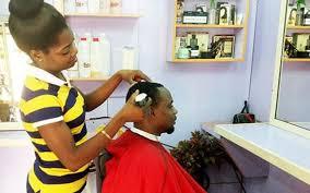 fem boys at the hair salon when women style men s heads the herald
