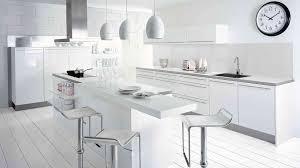 meuble de cuisine blanc brillant étourdissant cuisine toute blanche avec chambre enfant cuisine toute