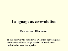 Genes And Memes - universal darwinism we know that biological evolution requires