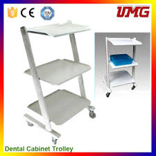 china dentist tools dental office cabinets with trolley wheel