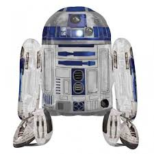 wars balloons delivery wars r2d2 airwalker foil balloon buy helium balloons