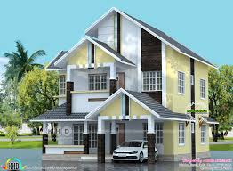 modern sloping roof 1840 sq ft house kerala home design bloglovin u0027