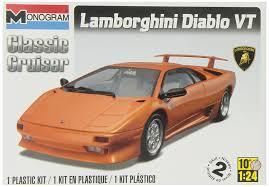 lamborghini diablo kit car amazon com revell monogram lamborghini diablo vt toys