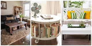 Diy Living Room by 10 Diy Coffee Tables How To Make A Coffee Table