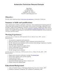 A P Mechanic Resume Download Motorcycle Mechanic Job Description