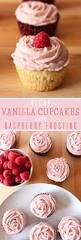 vegan vanilla cupcakes with raspberry frosting sweet like cocoa