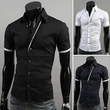 2015 summer fashion new men u0027s shirts slim fit casual shirts man
