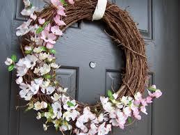 Spring Wreaths For Door by Countdown To Spring My Front Door Creative Green Living