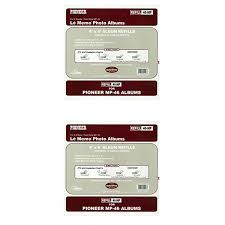 pioneer album refills pioneer memo pocket album refill 4 inch by 6 inch for