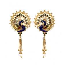 images of gold earings gold earrings for women buy gold earrings online chintamanis