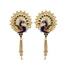 images of gold ear rings gold earrings for women buy gold earrings online chintamanis