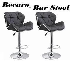 Bar Stool Sets Of 2 Recaro Modern Adjustable Bar Stool Set Of 2