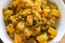 vegan bombay potatoes and peas vegan richa
