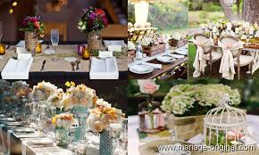 decoration mariage vintage décoration mariage vintage