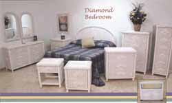 white wicker bedroom set aaxxons palm springs