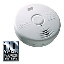 flashing green light on kidde smoke detector kidde 10 year worry free lithium battery operated smoke alarm with